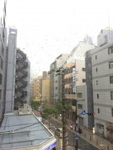 梅雨入りですね