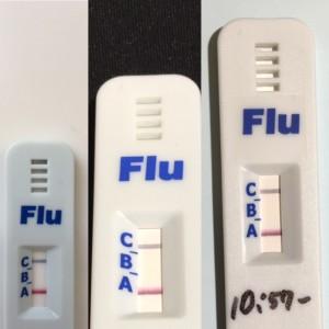 インフルエンザ流行ってますよー!!